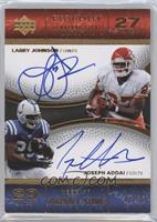 Joseph Addai, Larry Johnson /30