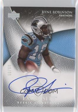 2007 Upper Deck Exquisite Collection - [Base] - Parallel 1 #99 - Ryne Robinson /60