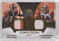 Chad Johnson, T.J. Houshmandzadeh #/25