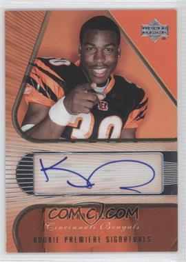 2007 Upper Deck NFL Players Rookie Premiere - [???] #AC12 - Kenny Irons