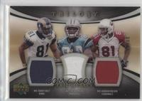 Torry Holt, Steve Smith, Anquan Boldin /33