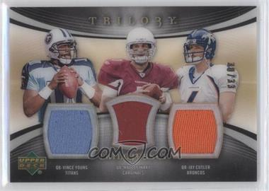 2007 Upper Deck Trilogy - [???] #JJ-YLC - Vince Young, Jay Cutler /33