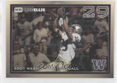 2007 Washington Huskies Team Issue - [Base] #COEL - Cody Ellis