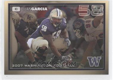 2007 Washington Huskies Team Issue - [Base] #JUGA - Justin Gage