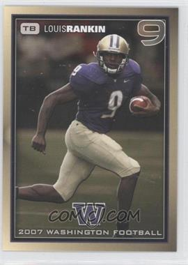 2007 Washington Huskies Team Issue - [Base] #LORA - Louis Rankin