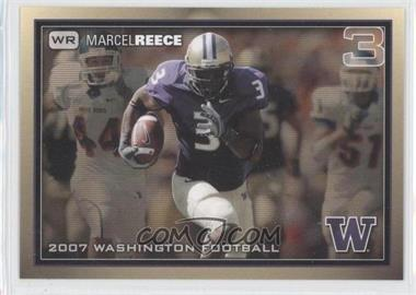 2007 Washington Huskies Team Issue - [Base] #MARE - Marcel Reece