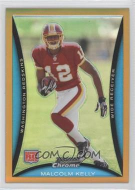 2008 Bowman Chrome - [Base] - Gold Refractor #BC86 - Malcolm Kelly /50