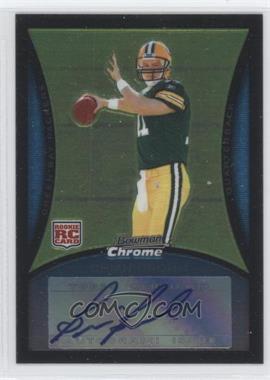 2008 Bowman Chrome - [Base] - Rookie Autographs [Autographed] #BC57 - Brian Brohm