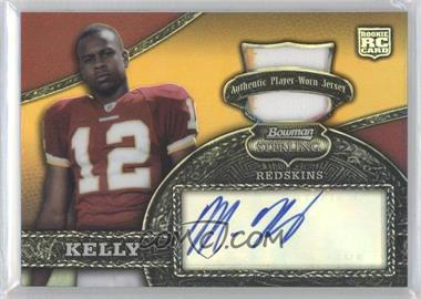 2008 Bowman Sterling - [Base] - Autographed Relics Gold Refractor [Autographed] [Memorabilia] #162 - Malcolm Kelly /235
