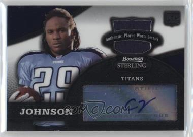 2008 Bowman Sterling - [Base] #156.2 - Chris Johnson