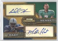 Mike Hart, Chad Henne