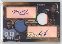 Matt Forte, Chris Johnson /75