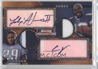 Felix Jones, Chris Johnson /75