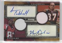 Harry Douglas, Andre Caldwell [Noted] #/75