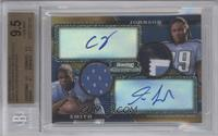 Chris Johnson, Kevin Smith /75 [BGS 9.5]
