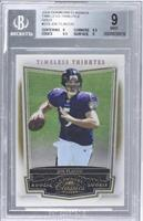 Joe Flacco /50 [BGS 9 MINT]