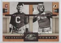 Jim Thorpe, Sammy Baugh /250
