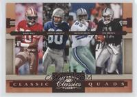 Jerry Rice, Michael Irvin, Steve Largent, Tim Brown /250