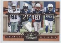 Marvin Harrison, Terrell Owens, LaDainian Tomlinson, Randy Moss /250