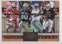 Jerry Rice, Steve Largent, Tim Brown, Michael Irvin /1000