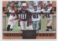 Chad Johnson, Terrell Owens, Torry Holt, Randy Moss #/1,000