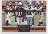 Chad Johnson, Terrell Owens, Torry Holt, Randy Moss #/1,000