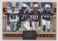 LaDainian Tomlinson, Marvin Harrison, Randy Moss, Terrell Owens /1000