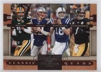 Brett Favre, Ben Roethlisberger, Peyton Manning, Tom Brady /1000