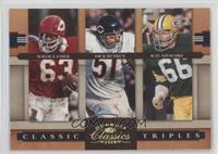 Ray Nitschke, Willie Lanier, Dick Butkus /100