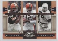 Jim Brown, Leroy Kelly, Marion Motley /250