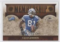 Calvin Johnson #/1,000