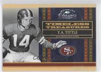 Y.A. Tittle /250