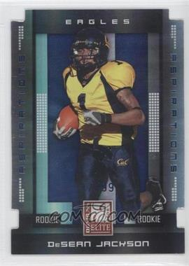 2008 Donruss Elite - [Base] - Aspirations Die-Cut #147 - DeSean Jackson /99