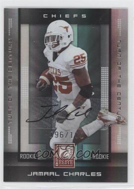 2008 Donruss Elite - [Base] - Rookies Turn of the Century Autographs [Autographed] #121 - Jamaal Charles /100