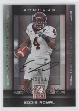2008 Donruss Elite - [Base] - Rookies Turn of the Century Autographs [Autographed] #157 - Eddie Royal /50