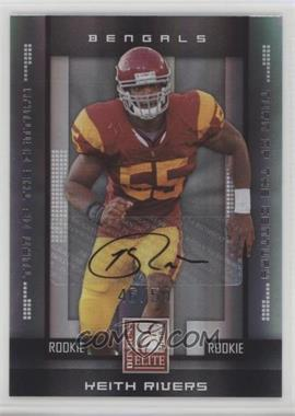 2008 Donruss Elite - [Base] - Rookies Turn of the Century Autographs [Autographed] #187 - Keith Rivers /50