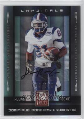 2008 Donruss Elite - [Base] - Rookies Turn of the Century Autographs [Autographed] #194 - Dominique Rodgers-Cromartie /100