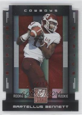 2008 Donruss Elite - [Base] - Status Die-Cut #139 - Martellus Bennett /24
