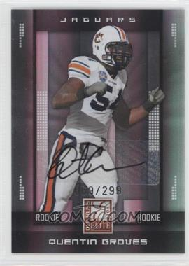 2008 Donruss Elite - [Base] #190 - Quentin Groves /299