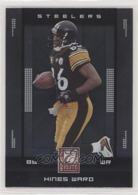 2008 Donruss Elite - [Base] #79 - Hines Ward