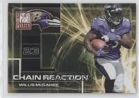Willis McGahee #/800