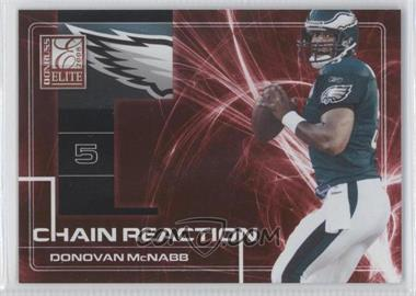 2008 Donruss Elite - Chain Reaction - Red #CR-15 - Donovan McNabb /200