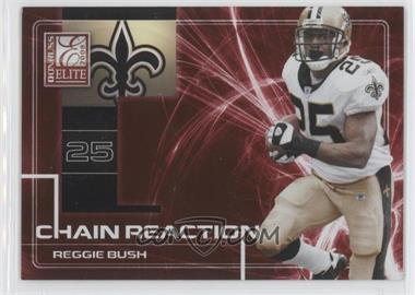 2008 Donruss Elite - Chain Reaction - Red #CR-17 - Reggie Bush /200