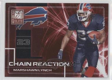 2008 Donruss Elite - Chain Reaction - Red #CR-4 - Marshawn Lynch /200