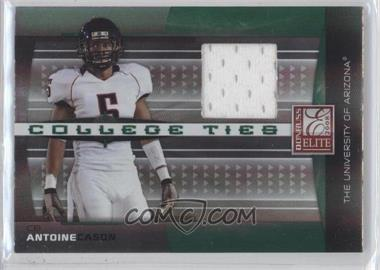 2008 Donruss Elite - College Ties - Jerseys [Memorabilia] #CT-4 - Antoine Cason /150