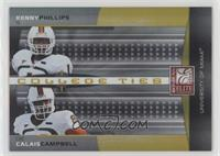 Calais Campbell, Kenny Phillips #/400