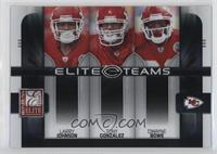 Larry Johnson, Tony Gonzalez, Dwayne Bowe [Noted] #/800