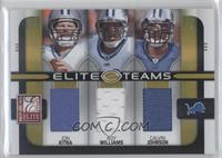 Jon Kitna, Calvin Johnson, Roy Williams /199