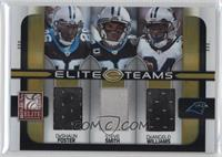 DeAngelo Williams, Steve Smith, DeShaun Foster /199