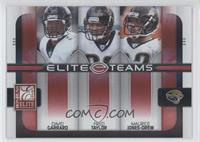 David Garrard, Fred Taylor, Maurice Jones-Drew #/400